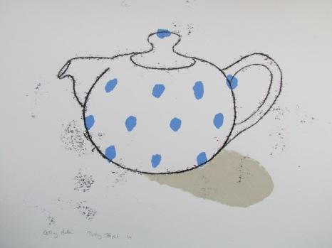 Dotty teapot