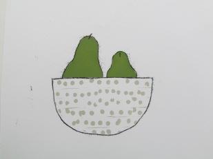 PearFruit bowl